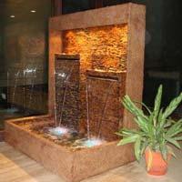 Frp Curtain  Water Fountain