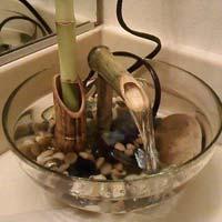 Indoor Tickling Water Fountain