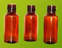 Amber Pet Bottles (60-ml)