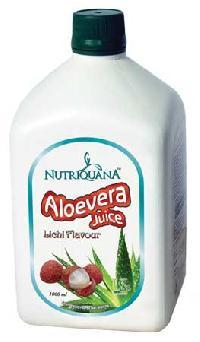 Nutriquana Litchi Flavoured Aloe Vera Juice