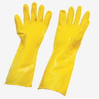 pvc unsupported hand gloves