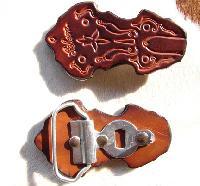 Stirrup Leather Buckles