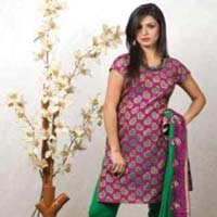 Silk Churidar Suits