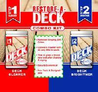 Deck Cleaner and Brightener