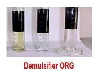 Demulsifier ORG Emulsion Breaker and Reverse Demulsifier