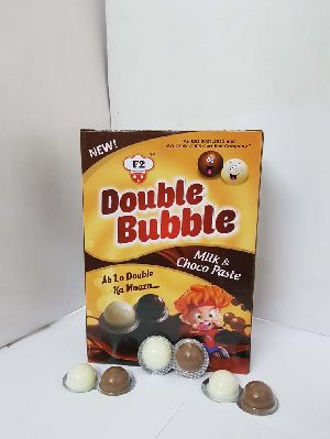 Double Bubble - Chocolate and Milk Paste