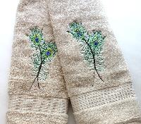 Embroidered Towels Sets