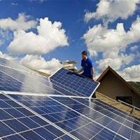 Solar Panel Structure Installation