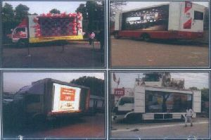 Led Video Vans On Hire Lease And Sales Services