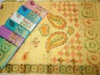 Kota Saree Hand Art work