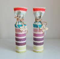 Fabric Wine Bottle Cover