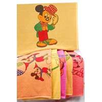 Classic Mini Mouse Print Bath Towel