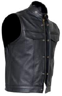 leather waist coats