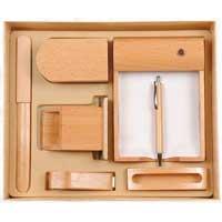 Wooden Gift Set, Desk Set