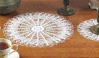 Crochet Table Mat(round)