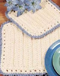 Crochet Table Mat(square)