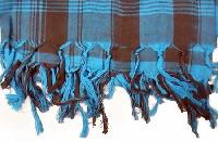 Knotted Fringe Scarf (Single Knot)