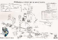 Model No. : Gl-400 Air Cooled Diesel Engines