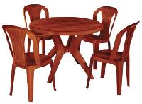 Plastic Dining Table 02