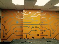 printing wall graphic film