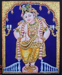 Vitoba Krishna Tanjore Painting