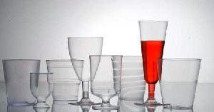 Plastic Transparent Glasses