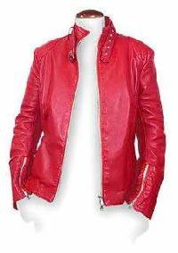 Ladies Leather Jacket 01