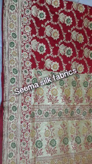 Banarasi Meenakari Silk Sarees