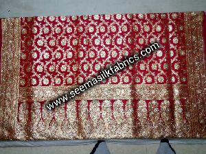 Katan Silk Saree With Heavy Work