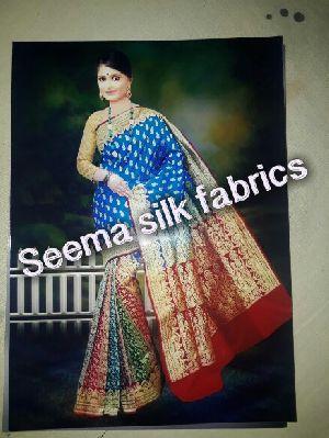 Pure Handloom Katan Silk Sarees