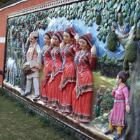 Murals Paintings, Wall Painting In Fiber Glass