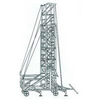 Aluminium Tiltable Tower Extention Ladder