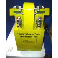 Folding Endurance Tester ,Kohler Molin Type