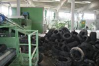 Tyre Recycling Plant