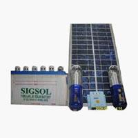 Cfl Based Solar Home Light