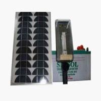 CFL Based Solar Street Light