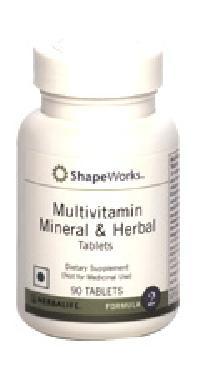 Mutivitamins, Mineral, Herbal Tablets