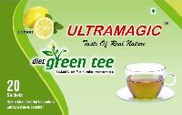 Refreshing Lemon Green Tea