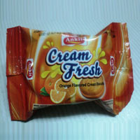Orange Flavored Cream Biscuits