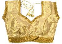 Golden Brocade Blouse