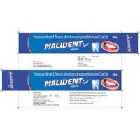 Tooth Paste Malident Gel