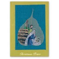 Handmade Greeting Cards Jute Religious