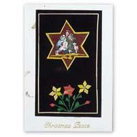 Handmade Greeting Cards Star Religious