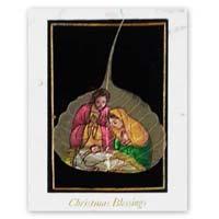 Handmade Greeting Cards Velvet Religious