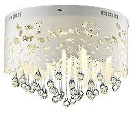 Led Flood Chandelier Crystal Light