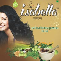 Isabella Henna Powder ( Natural & Burgandy Coulor )