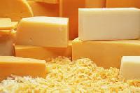 White and Yellow Cheese