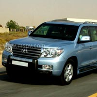 Bullet Proof Toyota Land Cruiser