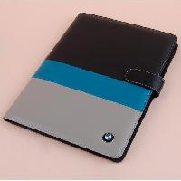 Dongguan Supplier A4 Leather Portfolio Custom Hardcover Notebook