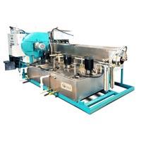 Cylindrical Rotary Screw Spray Cleaning Machine